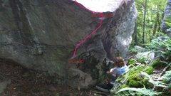 Rock Climbing Photo: Beta for Enter the Duat
