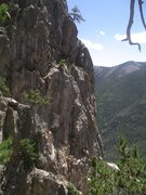 Rock Climbing Photo: Some of the stone in the West Sector of The Halido...