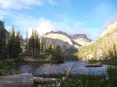Rock Climbing Photo: RMNP in early September 2011