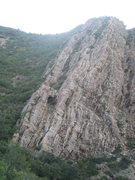 Rock Climbing Photo: Blister Hill Bypass. Blister Hill is the tree-cove...