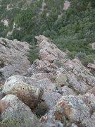 Rock Climbing Photo: Looking down Blister Hill Bypass.