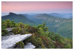 Rock Climbing Photo: Hawksbill Mountain, Linville Gorge