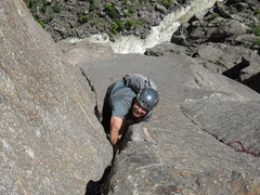 Second pitch off two boulder bivy