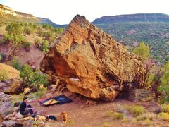 Rock Climbing Photo: Crazy Diamond Boulder.