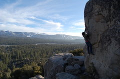 Rock Climbing Photo: north shore arete