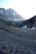 Rock Climbing Photo: Kilpacker Creek toward El Diente & Wilson, June 20...
