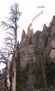 Rock Climbing Photo: Fourplay tower