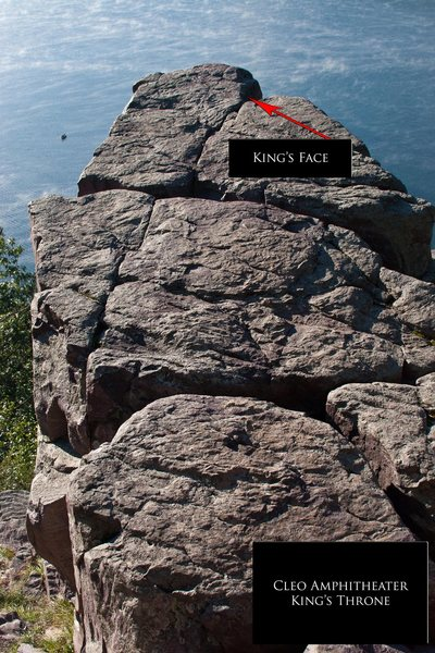 Rock Climbing Photo: King's Throne