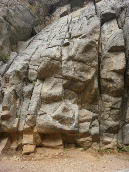 Rock Climbing Photo: Final Exam.