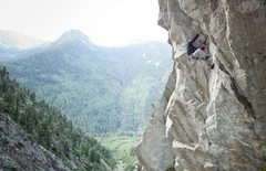 Rock Climbing Photo: Getting through this roof is super fun! photo cour...