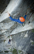 "Rock Climbing Photo: I'm 5'6"", so its doable for short people phot..."