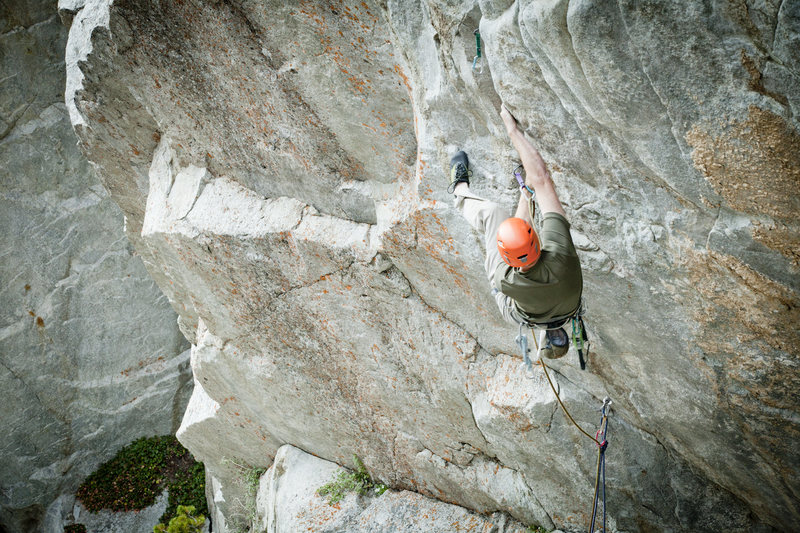 Rock Climbing Photo: Its nice to have your feet up high photo courtesy ...