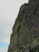 Rock Climbing Photo: Flakes at Zappa's Tooth.