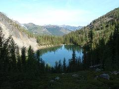 Rock Climbing Photo: Fred's Lake