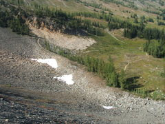 Rock Climbing Photo: Here a trail, there a trail, everywhere is the tra...