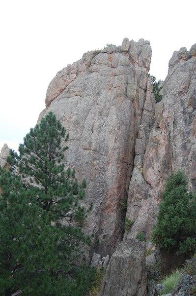 Rock Climbing Photo: Far right side of the Sepulcher.