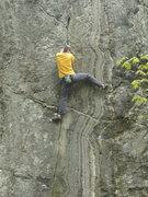 Rock Climbing Photo: BJC. Last day of climbing in NE.