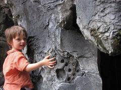 """Rock Climbing Photo: Bouldering """"artificial climbing shed"""". S..."""