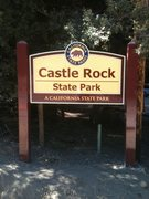 Rock Climbing Photo: Sign