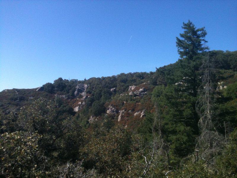 Rock Climbing Photo: Taking a break on a boulder