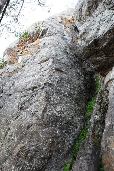 Rock Climbing Photo: The Beach Left Center Sector