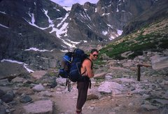 Rock Climbing Photo: What to do when your pack is too small for all you...
