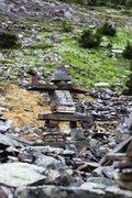 Rock Climbing Photo: An Inuksuk somewhere in British Columbia...
