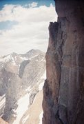 Rock Climbing Photo: Looking east along the NE face of Pigeon from the ...