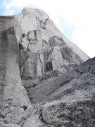 Rock Climbing Photo: Below the Great White Headwall, West Buttress (Bec...