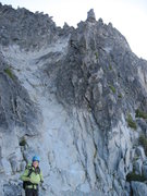 Rock Climbing Photo: Granite staircase to heaven, on the West Ridge, Mt...