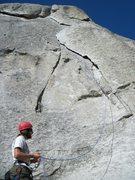 Rock Climbing Photo: Rye Crisp 5.8, Elephant Rock, City of Rocks 8/2010