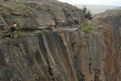 Rock Climbing Photo: Cragging the Condor wall, El Chalten, Argentina 1/...
