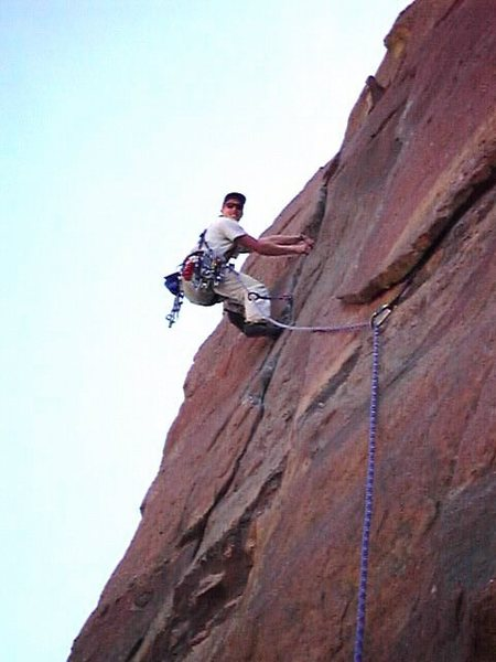 Rock Climbing Photo: Bastile Crack