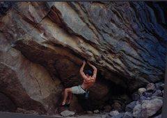 Rock Climbing Photo: Bouldering Eldo