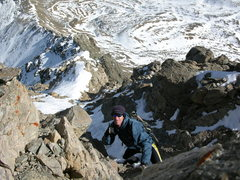 Rock Climbing Photo: Kelso ridge winter