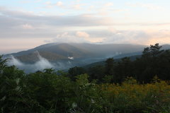 Rock Climbing Photo: mccormick gap overlook