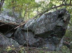 Rock Climbing Photo:   just below small 40 foot tall crag....all below ...