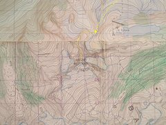 Rock Climbing Photo: MOUNT BUTTERS STANFORD ROUTE   contour interval 10...