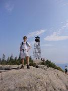 Rock Climbing Photo: Hurricane Mtn