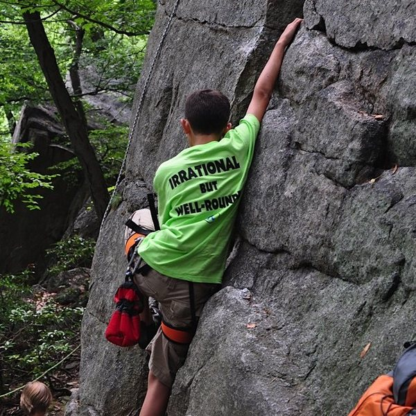 Bouldering on Betty