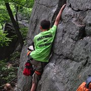 Rock Climbing Photo: Bouldering on Betty