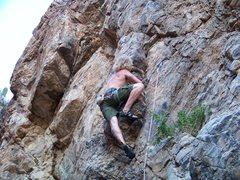Rock Climbing Photo: On the fringe of the fridge!