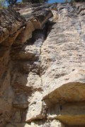 Rock Climbing Photo: Going All The Way, 5.10b  Go all the way up this f...