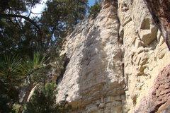 Rock Climbing Photo: TKO Wall, Sunshine Wall, Spearfish Canyon.