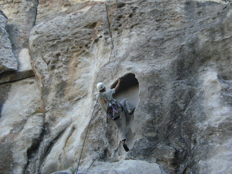 Rock Climbing Photo: Bottom of Firewater