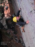 Rock Climbing Photo: Eric goes back for a second helping from the Crack...