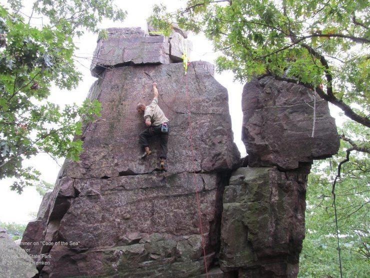 Rock Climbing Photo: David Nimmer