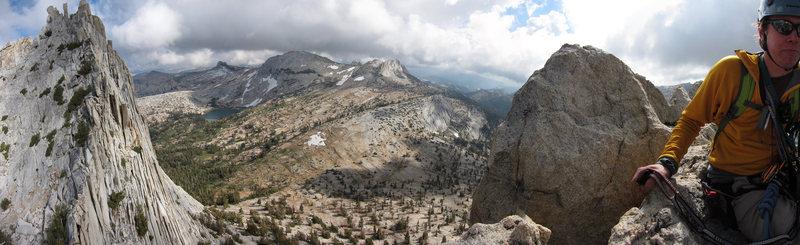 The view from Eichorn's Pinnacle