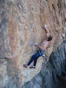 Gus sending the Snag many years after the FA. At the Crux