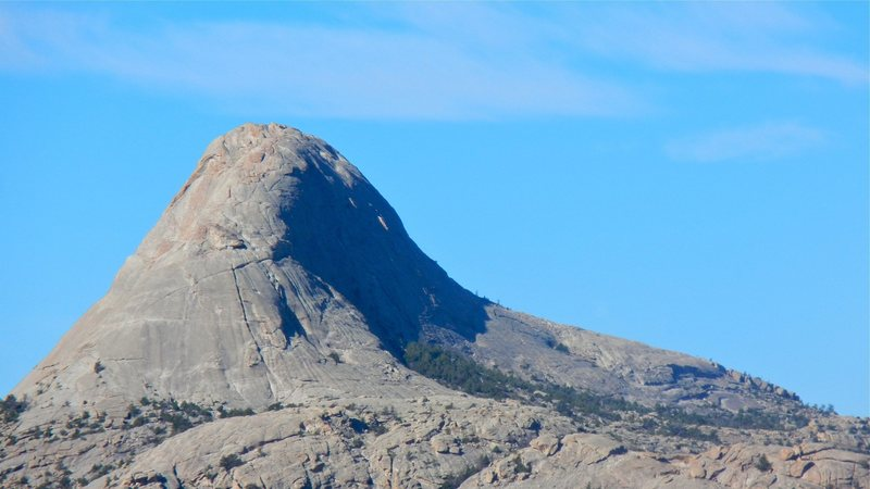 Rock Climbing Photo: Lankin Dome from the northeast.